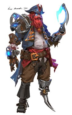 ArtStation - Pirate , Rock D