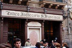 Oldest Bakery/Restaurant in Palermo, Sicily