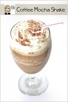 Delicious Coffee Mocha Shake #recipe @livelaughrowe #RedCupShowdown