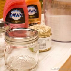 What Can You Make With Dawn Dish Soap and Sugar? - Living in the Midwest, winters are especially tough on the hands. I'm constantly looking for the perfect way...