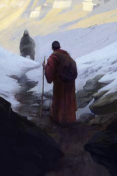 """""""Yeti"""" by Seb-M.   View more art at seb-m.deviantart.com"""
