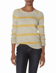 OBR Striped Knit Sweater from THELIMITED.com