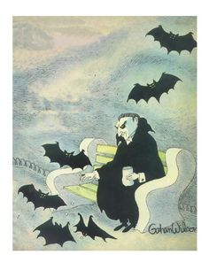 Looks like Count Dracula and friends. Halloween Prints, Halloween Pictures, Holidays Halloween, Spooky Halloween, Vintage Halloween, Halloween Humor, Dark Fantasy, Imprimibles Halloween, Dark Romance