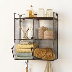 $89, for bathroom? Modular Wire Shelving Collection | VivaTerra