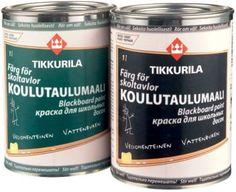 Фото Краска для школьных досок Koulutaulumaali vesiohenteinen, Тиккурила (Tikkurila). зеленая 1л