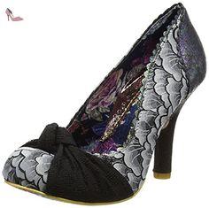 Irregular Choice  Smartie Pants, Escarpins femme - noir - Black (Black Metallic), 39 - Chaussures irregular choice (*Partner-Link)