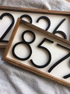Custom Simulated Mail slot address sign Steel house home street Made in the USA