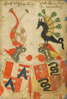 Ortenburger Wappenbuch - BSB Cod.icon. 308 u, [S.l.] Bayern, 1466 - 1473 Folio: 3r
