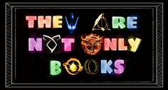 Harry Potter, The Lord of the Rings, The Hunger Games, The Hobbit, The Mortal Instruments, Percy Jackson and Divergent are not only books. I made this but you are free to pin it :)