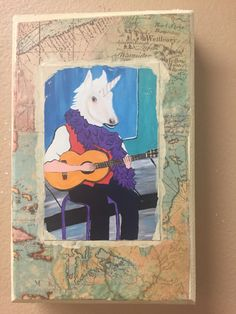 A personal favorite from my Etsy shop https://www.etsy.com/listing/448632204/mini-art-mixed-media-on-small-canvas