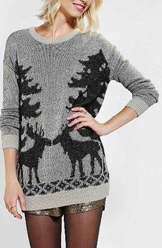 Cotton sweater, $59 | 21 Cute Ways To Channel Christmas Without Being Tacky