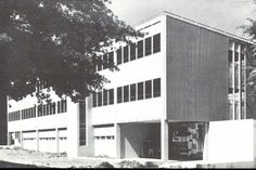 The new Architecture and Allied Arts Building 1958. From the 1958 Oregana (University of Oregon yearbook). www.CampusAttic.com