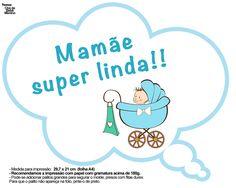 Plaquinhas Divertidas Chá de Bebê Menino 17