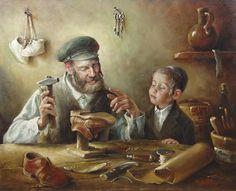 Материнство -> Иудаизм в живописи