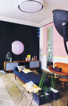 appartement parisien de Jean-Christophe Aumas