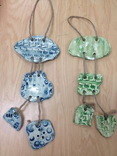 COLOR for EVERYONE: Adaptive Art: Clay Wind Chimes