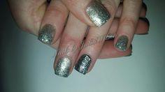New years nails.  #nails #gelnails