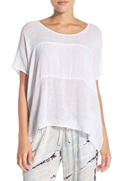 Hard Tail Slouchy Inset Tee available at #Nordstrom
