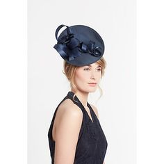 d5f1dac9 John Lewis & Partners Belle Shantung Disc and Loop Occasion Hat at John  Lewis & Partners