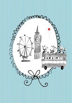 London cards - Becky Baur