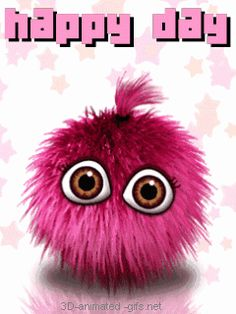 Good Hair  on Happy New Day Hair Ball Face Animated Gif Amania Free Download Photo