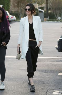 Kendall and Kylie Jenner Street Style - Kendall and Kylie Style