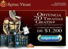 Tiradas Gratis en nuestras Tragamonedas!!! Solo en Royal Vegas  donde la realeza  hace su fortuna.