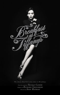 Emilia Clarke as Holly Golightly in the Broadway production of Breakfast at Tiffany's, opening March 20th