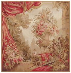 ♥.•:*´¨`*:•♥Aubusson Tapestry.