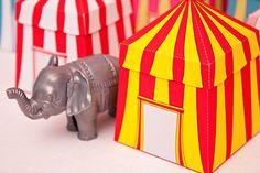 Awesome printable DIY circus tent