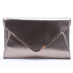 Doublju Women`s Girl`s Man-made Leather Purse Clutch Shoulder Envelope Bag Handbag $19.59