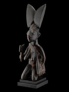 Yoruba Sango Shrine Figure, Nigeria