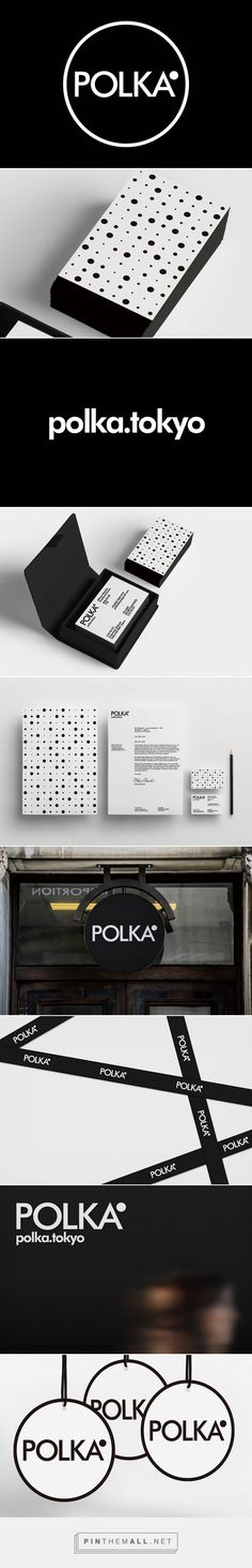 POLKA Tokyo Branding by Yuta Takahashi | Fivestar Branding Agency – Design and Branding Agency & Curated Inspiration Gallery