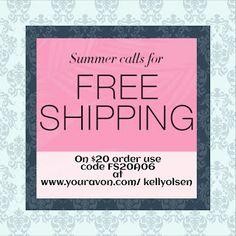 Make Up & The Tomboy: Free shipping code
