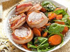 160 gramm szénhidrát bőven elég egy napra az ünnepek alatt is. Pretzel Bites, Bacon, Curry, Paleo, Low Carb, Healthy Recipes, Bread, Chicken, Cooking