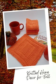 Knit So Easy quick & easy patterns = effortlessly cozy knitting. #KnittingPatterns #FallCrafts #Handknits Easy Knitting Patterns, Knitting Projects, Easy Patterns, Fall Home Decor, Autumn Home, Fall Knitting, Knitting For Beginners, Fall Crafts, Pattern Design