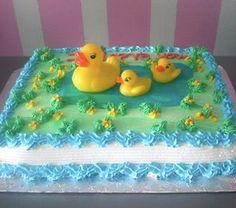 #pictures #rubber #ducky #cakerubber ducky cake pictures | Rubber Ducky Cake Baby Shower Sheet Cakes, Baby Shower Cakes For Boys, Boy Baby Shower Themes, Baby Shower Parties, Rubber Duck Cake, Rubber Duck Birthday, Baby Birthday, Ducky Baby Showers, Baby Shower Duck