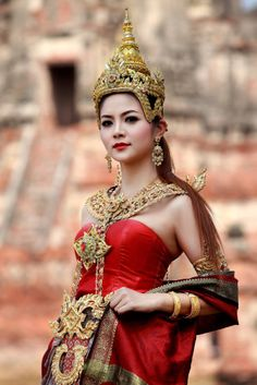 #thaidress #thaicostume #costumethai #asian #asianlady #lady #angel #thailand