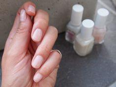 perfect pink nails