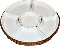 7 Piece Divided Serving Dish Set