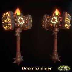 ArtStation - Doomhammer - Legion skin [Fun Art + Sketchfab ], SERGEY PANIN