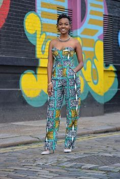 34380840fb8 50 Beautiful Jumpsuit Ankara Styles For The Weekend - iFashy Afro Chic