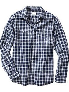 Mens Slim-Fit Patterned Shirts