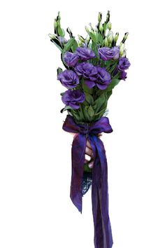My Bouquet - Hand-tied Lisianthus Bouquet