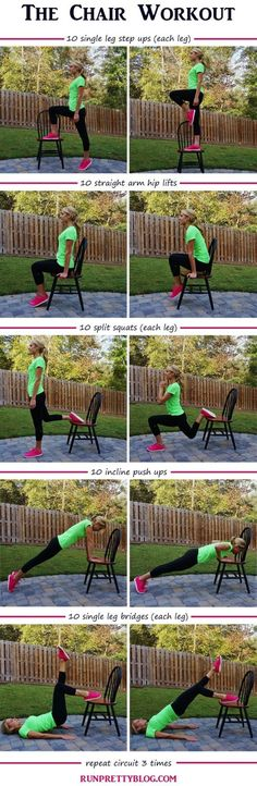 The Chair Workout