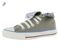 8cb8754bed308f Converse All Star Chuck Taylor Roll Down Hi Unisex Shoes Size US 7 Regular D  M Width Color VioletGrayMulticolour     See this great product.