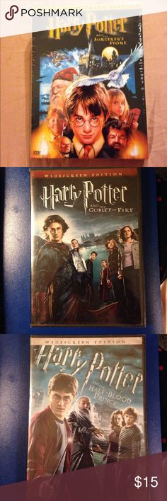 Buy all 3 movie for $15.00 Buy all three of Harry Potter's for a great discount. Other