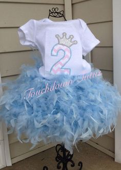 A personal favorite from my Etsy shop https://www.etsy.com/listing/223442188/feather-tutu-birthday-outfit