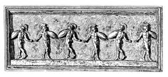 The Dance: Historic Illustrations of Dancing from 3300 B. Ancient Romans, Priest, Worship, History, Illustration, Painting, Image, Celebrations, Historia