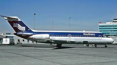 Southern Airways DC-9 N94S , shown at Atlanta in 1978, continued to fly with Republic and Northwest into the late 1990s.